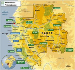National parks Gabon